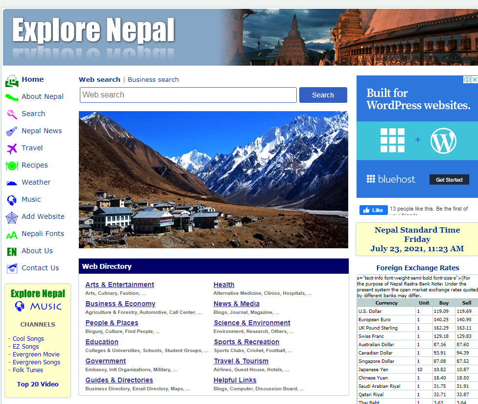 Explore Nepal  Nepal Business Directory Listing Site