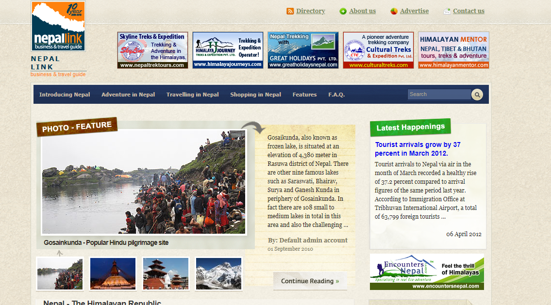 Nepal Link- nepal business directory listing site
